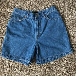 High waisted vintage mom shorts Ralph Lauren